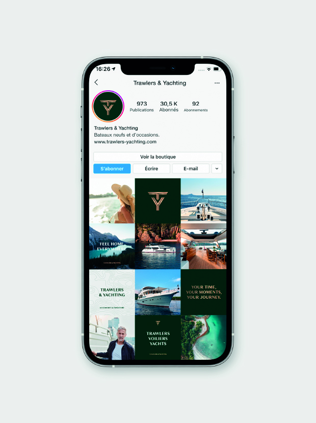 Trawlers & Yachting - Instagram