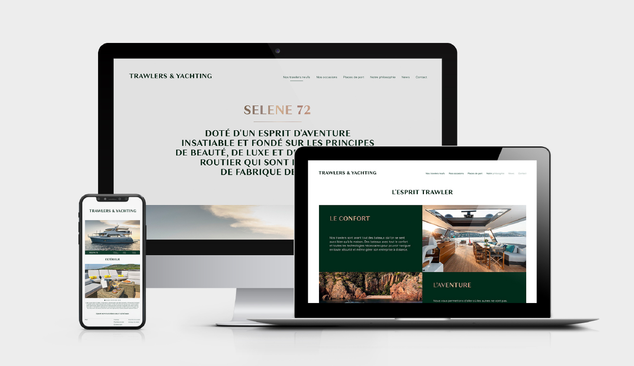 Trawlers & Yachting - site internet