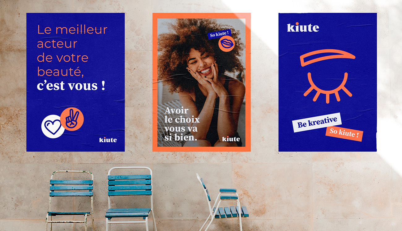 Kiute - types top - affiches