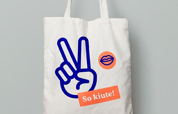 Kiute - types top - tote bag