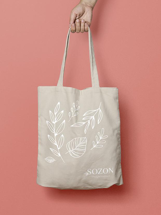 Sozon lifestyle boutique - types top - tote bag