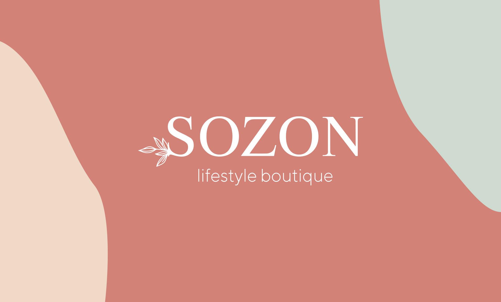 Sozon lifestyle boutique - types top - logo