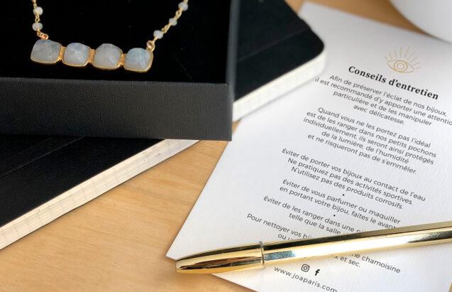 Joa Paris bijoux - types top - papeterie