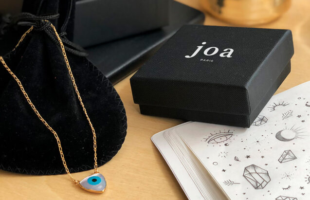 Joa Paris bijoux - types top - dessin à la main
