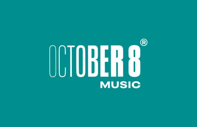 October 8 Music - logotype